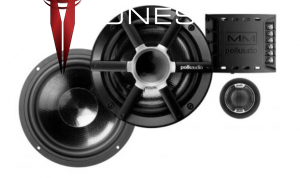 Polk Audio MM6501 Component Speakers Toyota Tacoma