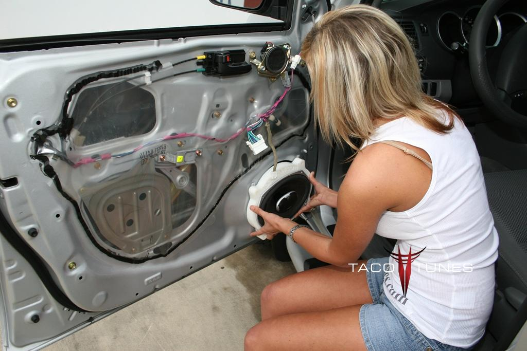 How To Install Speakers Remove Door Panels Toyota Tacoma Step By Step