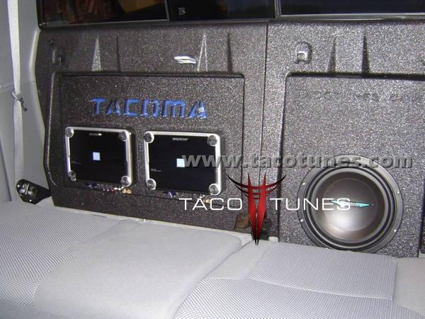 toyota tacoma stereo pictures complete audio system. Black Bedroom Furniture Sets. Home Design Ideas