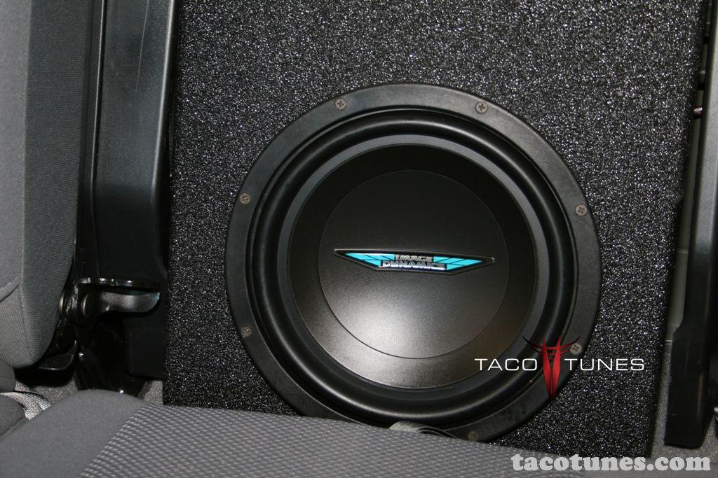 Tacoma Double Cab Subwoofer 42 Taco Tunes Toyota