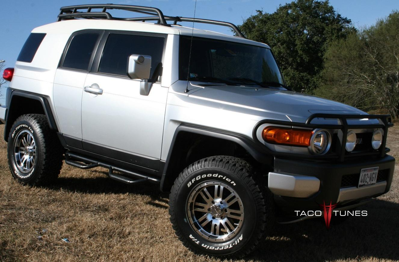 Daves Toyota FJ Cruiser 4x4 with tacotunes audio system toyota fj cruiser audio upgrade products fast and easy stereo upgrade  at gsmportal.co