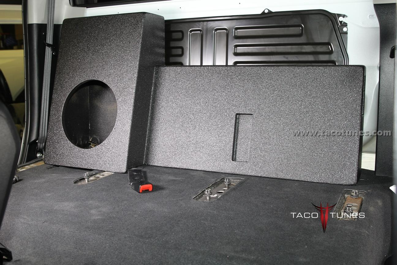 2014 Toyota Tundra Crewmax Ported Full Size Subwoofer