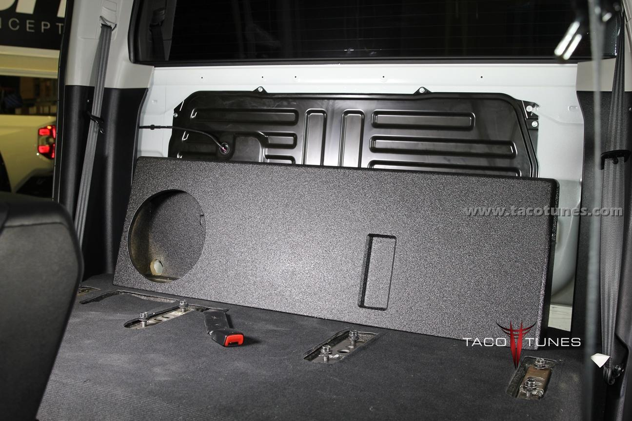 2014 Toyota Tundra Crewmax Ported Subwoofer Box
