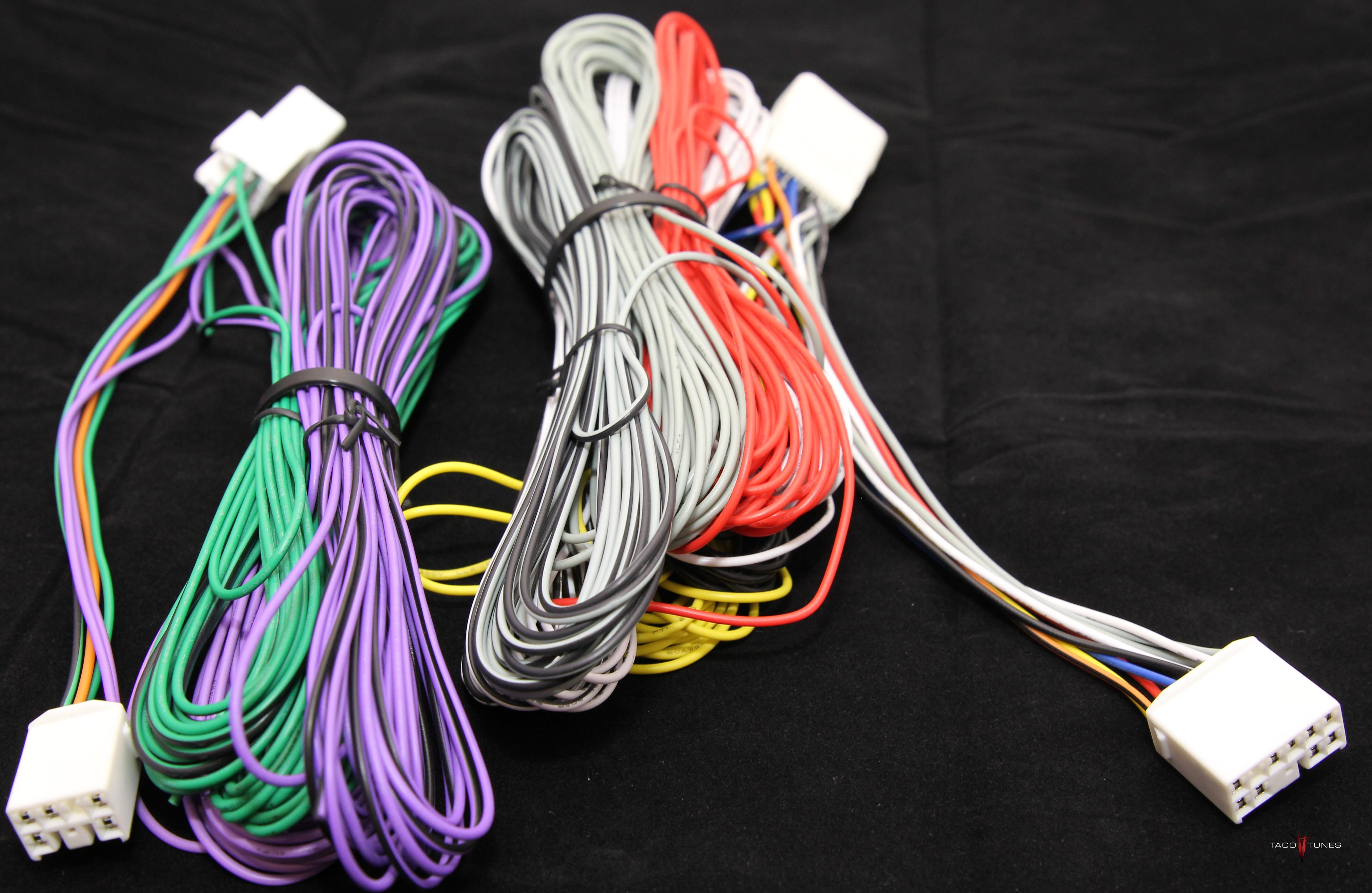 Keep Your Stock Factory Entune Stereo Add An Amplifier 2014 Tundra Oem Amp Wiring Diagram How To Camry