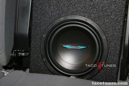 Toyota Tacoma Double Cab Image Dynamics Subwoofer box