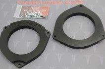 Toyota Tacoma Double Cab 6_5 Heavy Duty Speaker Adapter Mount