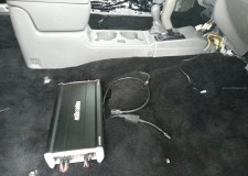 Exile Audio Javelin Amp 2003 Toyota Tacoma Under Seat Installation