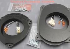 Toyota 4Runner Heavy Duty Speaker Mount 6_5 Front 6_5 Rear Door Kit Picture
