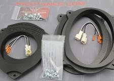 Toyota Avalon Heavy Duty Speaker Mounts 6x9 Front 6_5 Rear Door Kit