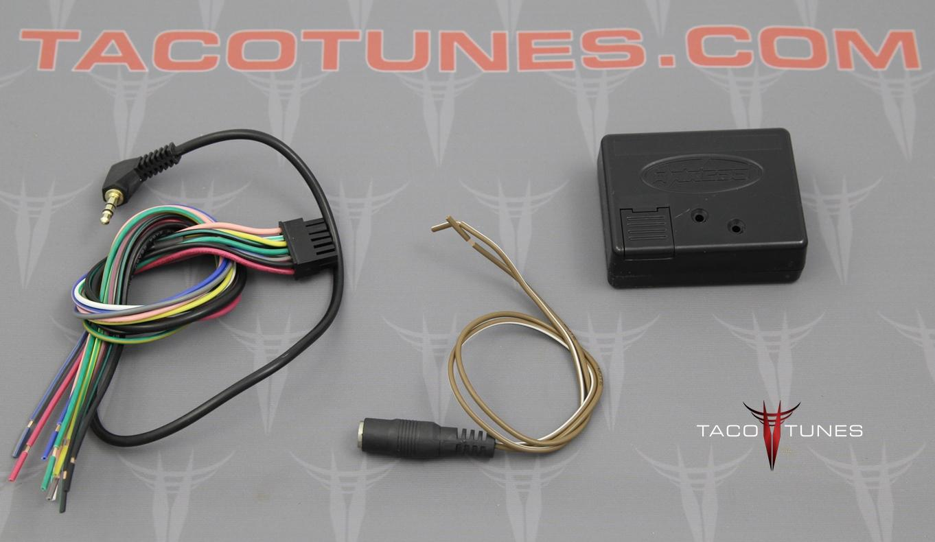 2005 2011 Toyota Tacoma Aftermarket Stereo Installation Kit Jbl Wiring Harness Steering Wheel Control Interface Adapter