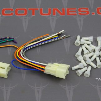 Toyota Stereo Wire Harness Adapter aftermarket stereo installation