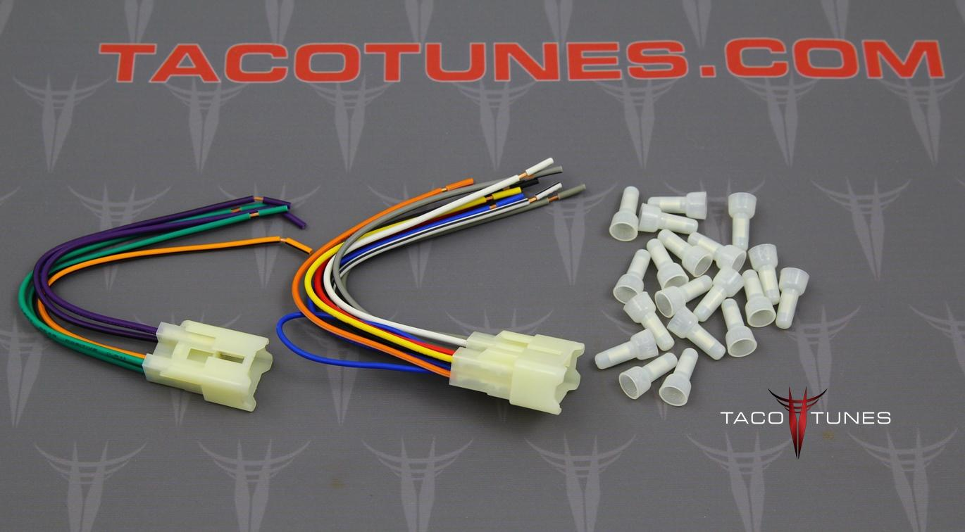 Toyota Stereo Wiring Harness Another Blog About Diagram Car 2012 Tacoma Aftermarket Installation Kit Echo Matrix