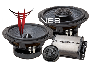 Toyota Tacoma Image Dynamics CXS64 Component Speakers
