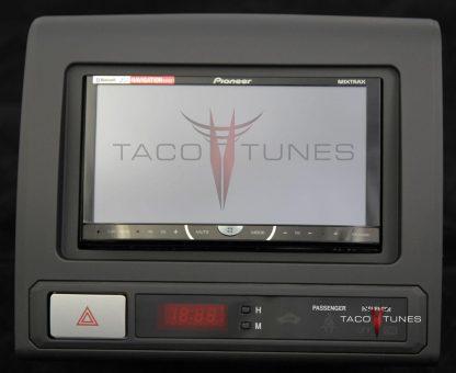 Toyota Tacoma 2012+ stereo installation kit black double din