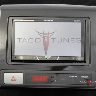 Toyota Tacoma Charcoal 2012+ dash stereo installation kit