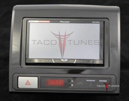Toyota Tacoma Charcoal 2012+ dash stereo installation kit
