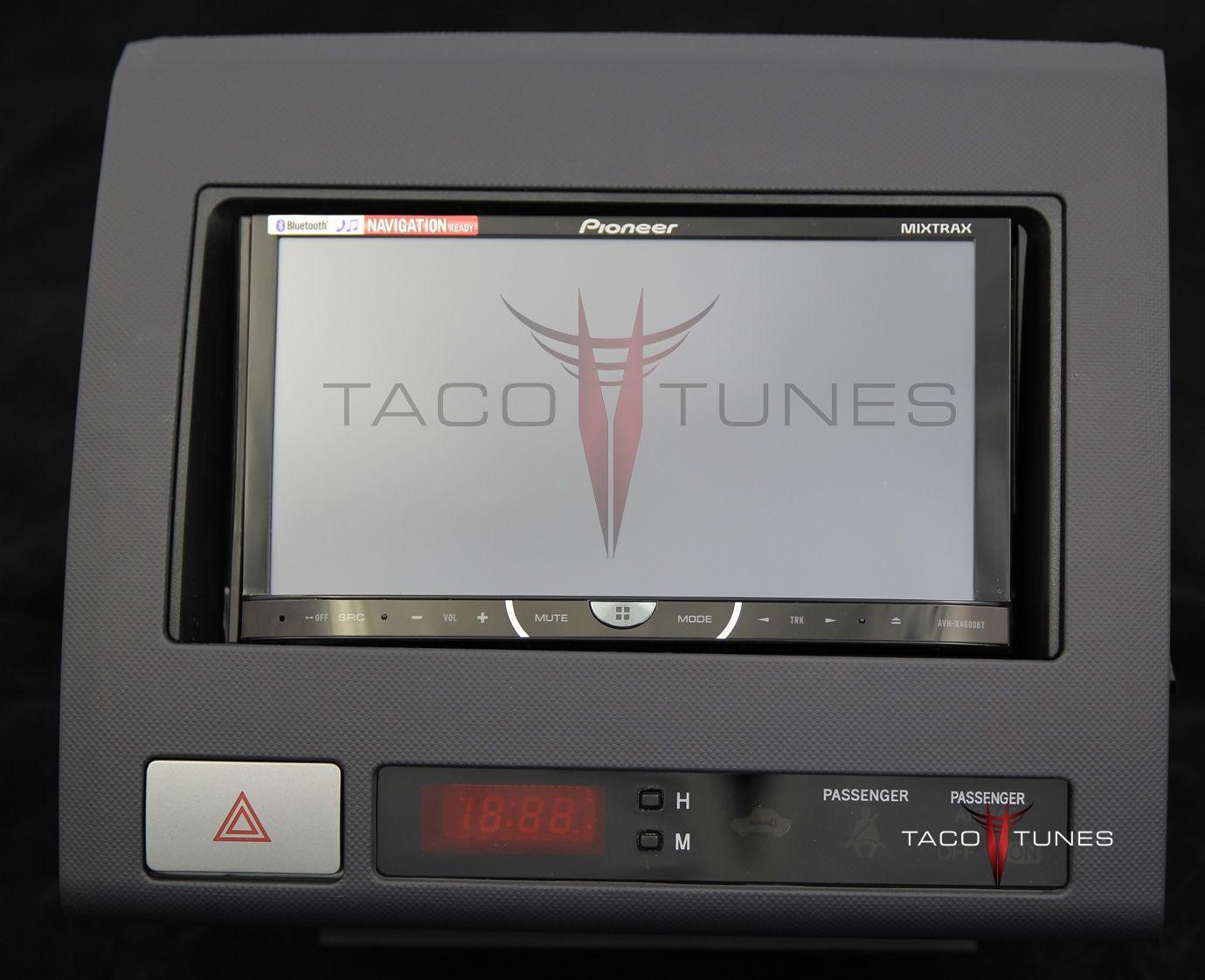 2005 2011 toyota tacoma aftermarket stereo installation kit. Black Bedroom Furniture Sets. Home Design Ideas
