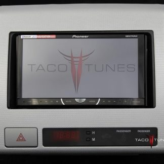 Toyota Tacoma silver 2005+ dash stereo installation kit