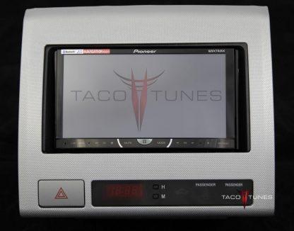 Toyota Tacoma silver 2005+ dash stereo installation kit