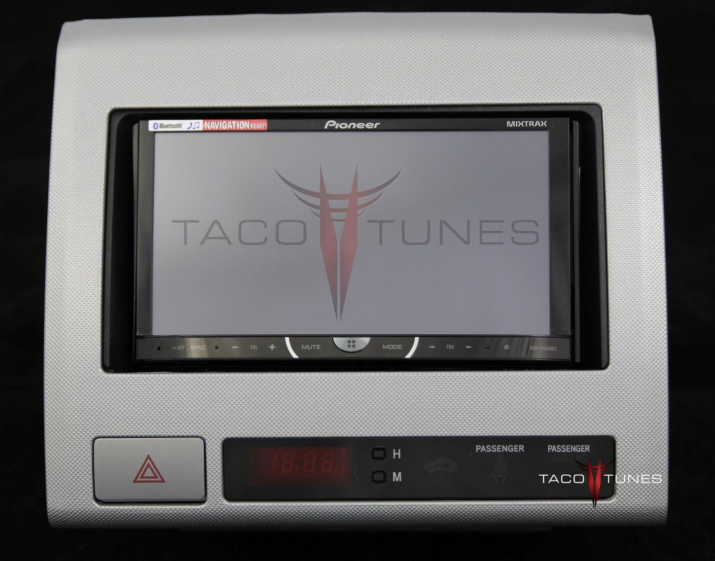2005 2011 Toyota Tacoma Aftermarket Stereo Installation Kit Single Din Car Radio Install Dash Mount With Wiring Silver