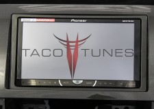 Toyota Tundra Charcoal 2007+ dash stereo installation kit