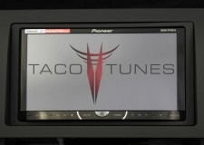 Toyota Tundra Flat Black 2007+ dash stereo installation kit