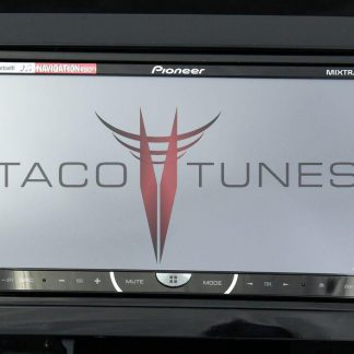 Toyota Tundra Gloss Black 2007+ dash stereo installation kit