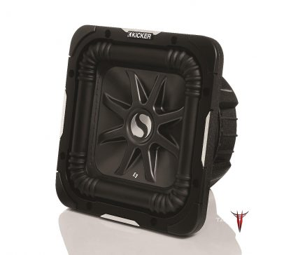 Toyota Tundra CrewMax Kicker L7 Solobaric Subwoofer with grille