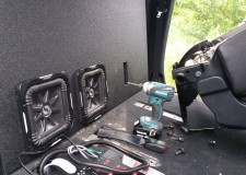 Toyota Tundra Crewmax Subwoofer Box Solobaric L7 8 Ported