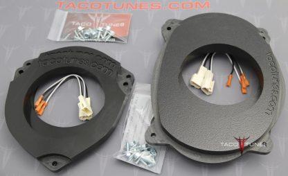 Toyota Tundra Heavy Duty Speaker Mount 6_5 Front 6_5 Rear Door Kit