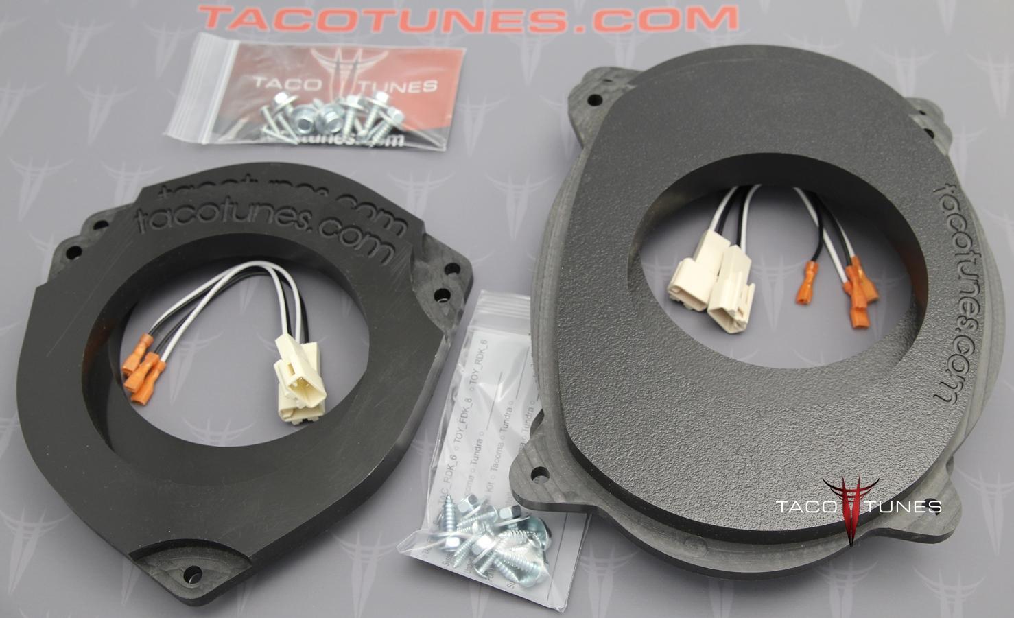 toyota tacoma 6 5 heavy duty speaker adapter installation kit. Black Bedroom Furniture Sets. Home Design Ideas