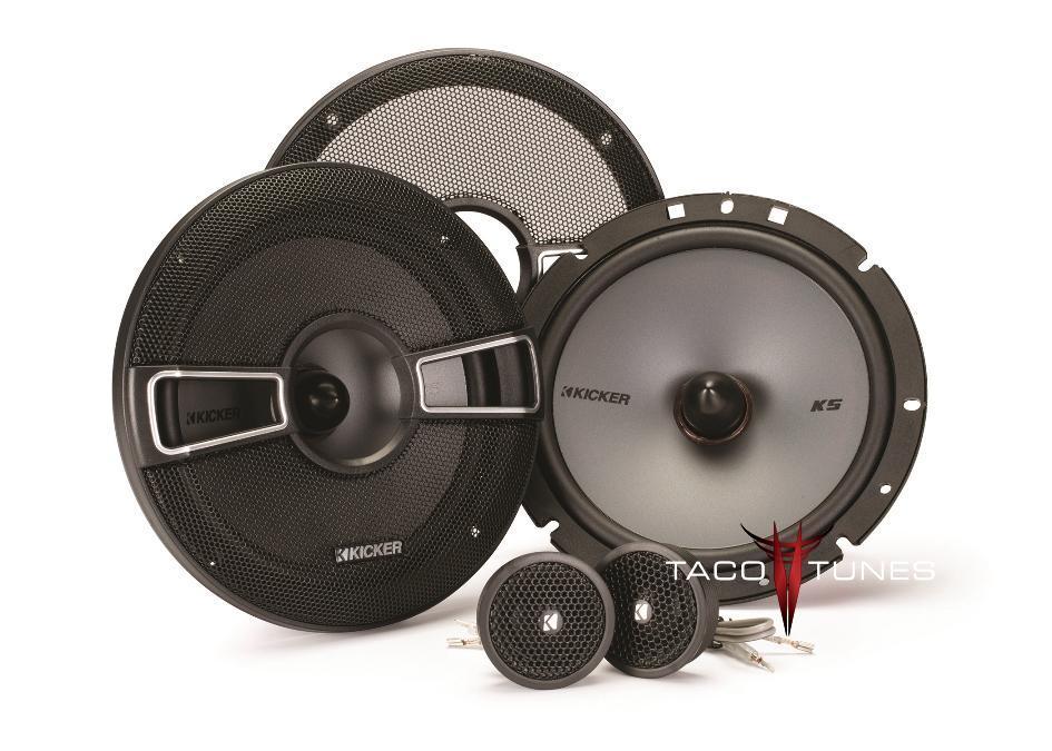 toyota tacoma front door kicker ks component speaker installation kit. Black Bedroom Furniture Sets. Home Design Ideas