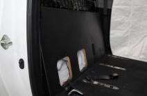 Toyota Tundra CrewMax Subwoofer Box Kicker Side View