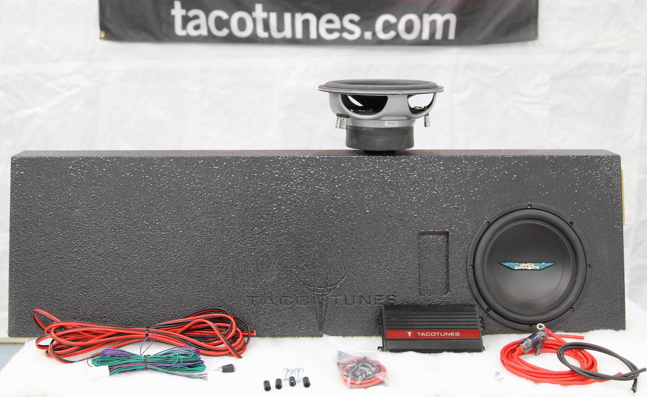Pleasant Tundra Turnkey Ported Subwoofer Box Subwoofer Amplifier And Wiring Database Wedabyuccorg