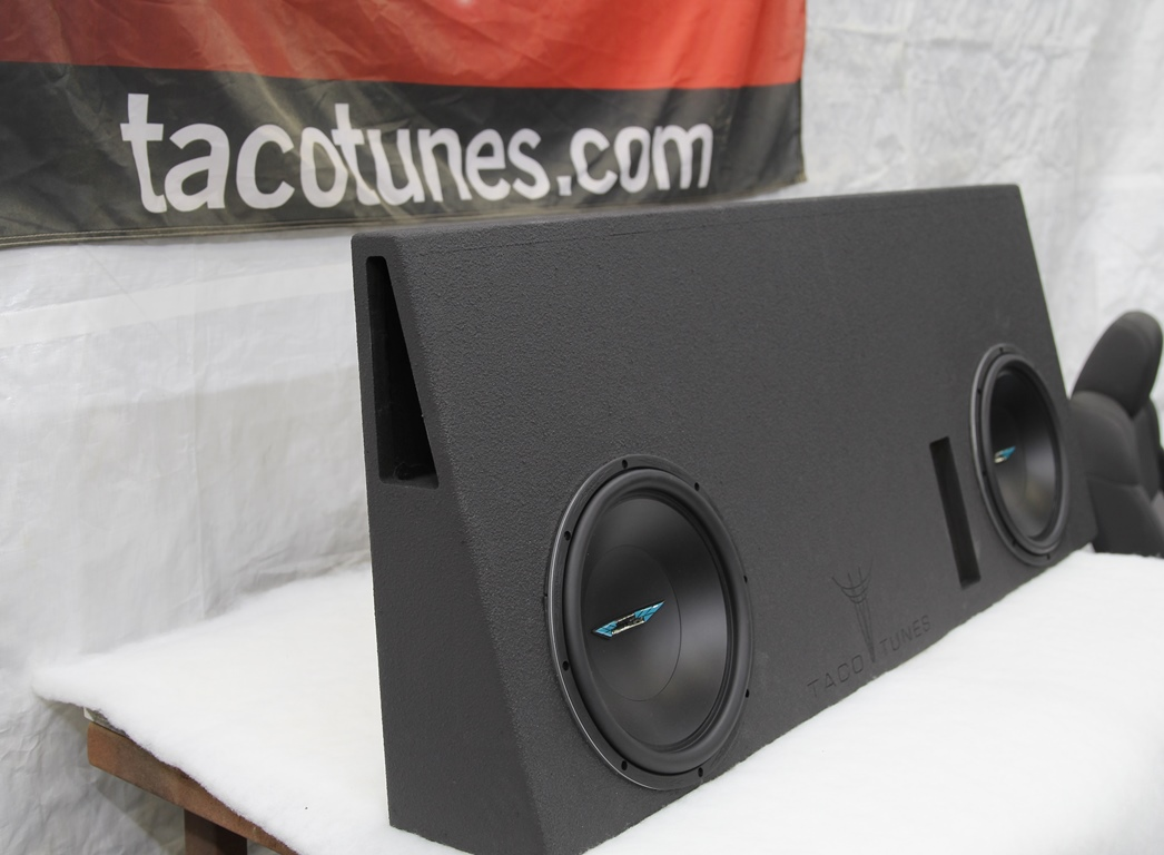 2014  Toyota Tundra Crewmax Ported Subwoofer Box Dual 12