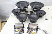 Complete Audio System Upgrade - Component Speakers, Amplifier(s) and subwoofer(s) designed for your Tundra.