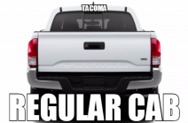 Toyota Tacoma Regular Cab Audio Products