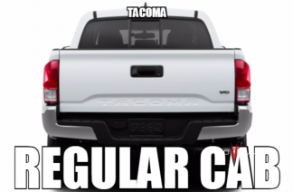 Toyota Tacoma Regular Cab Audio Products