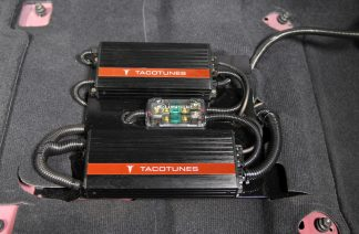 Toyota Tundra CrewMax EZ AMP Plug and Play Amp Rack
