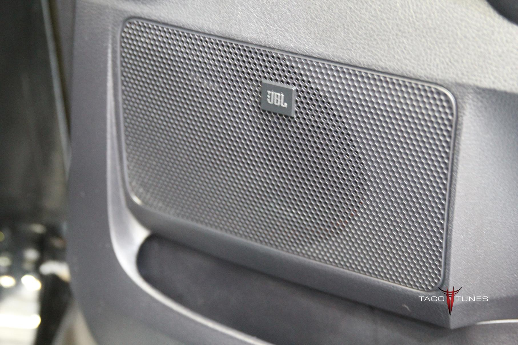 2014+ Toyota Tundra CrewMax Stock JBL Stereo System Pictures Details - Taco Tunes - Toyota Audio
