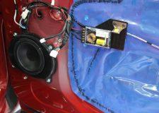 Toyota Tundra CrewMax Speaker & Crossoover Adpater Mounts