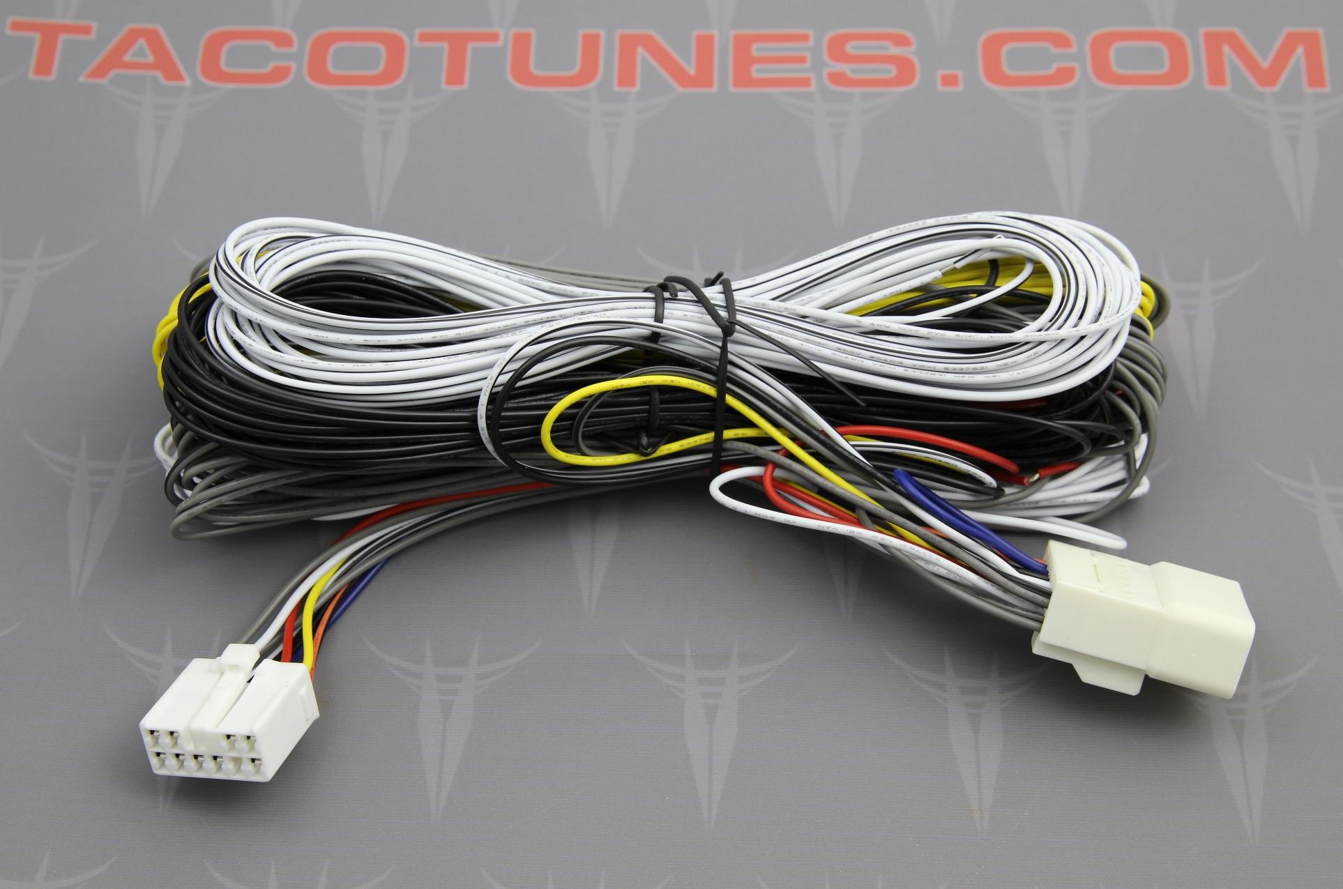 tacoma sound processor wire harness integration system taco tunes rh tacotunes com tacoma trailer wiring harness tacoma wiring harness diagram reverse light