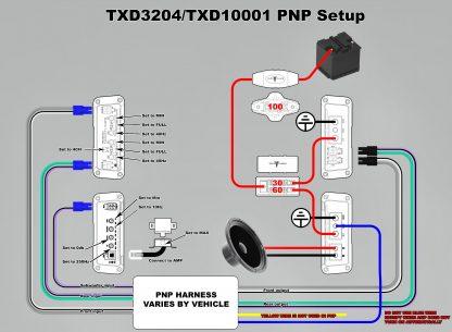 TXD3204 TXD10001 Wiring Diagram