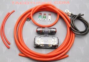 TXD3204 TXD6001 Dual Amp Installation Kit