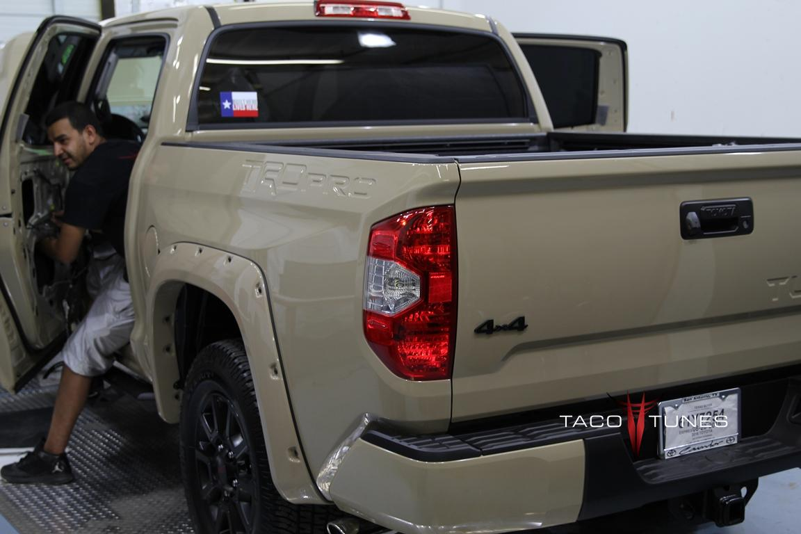 2016 toyota tundra crewmax trd pro complete audio system installation 26 taco tunes toyota. Black Bedroom Furniture Sets. Home Design Ideas