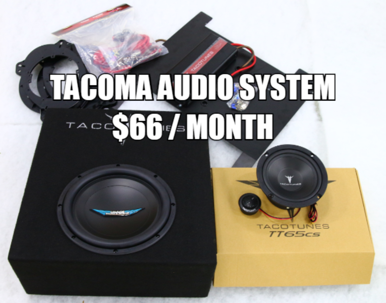Best Budget Subwoofer 2020 2005 2017 Toyota Tacoma Double Cab Image Dynamics Packaged Audio