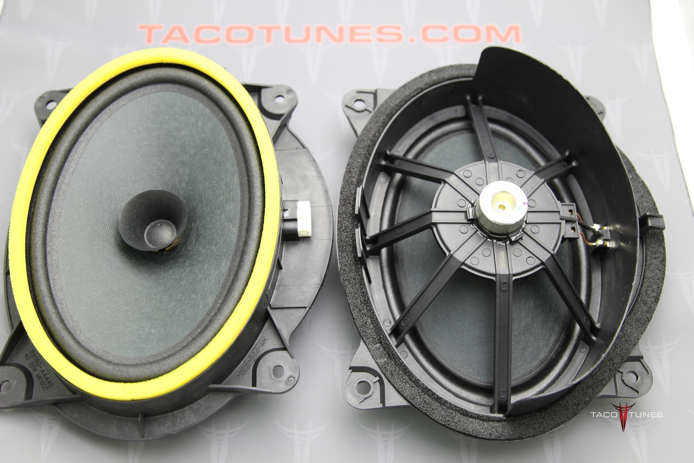Toyota 4Runner Stock Front Door Speakers & How to install component speakers 2010+ Toyota 4Runner pezcame.com