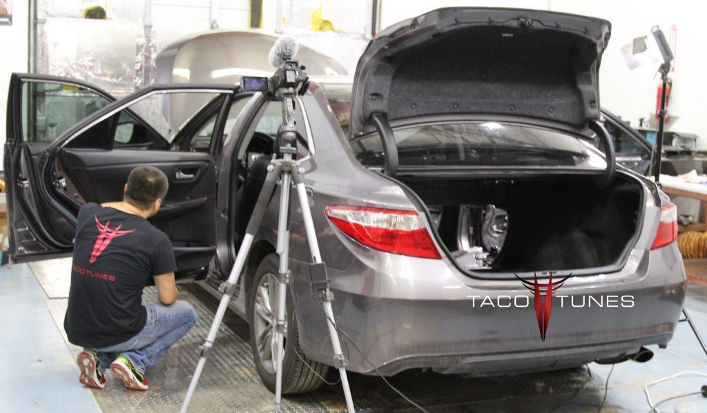 Toyota Camry Complete Audio Upgrade