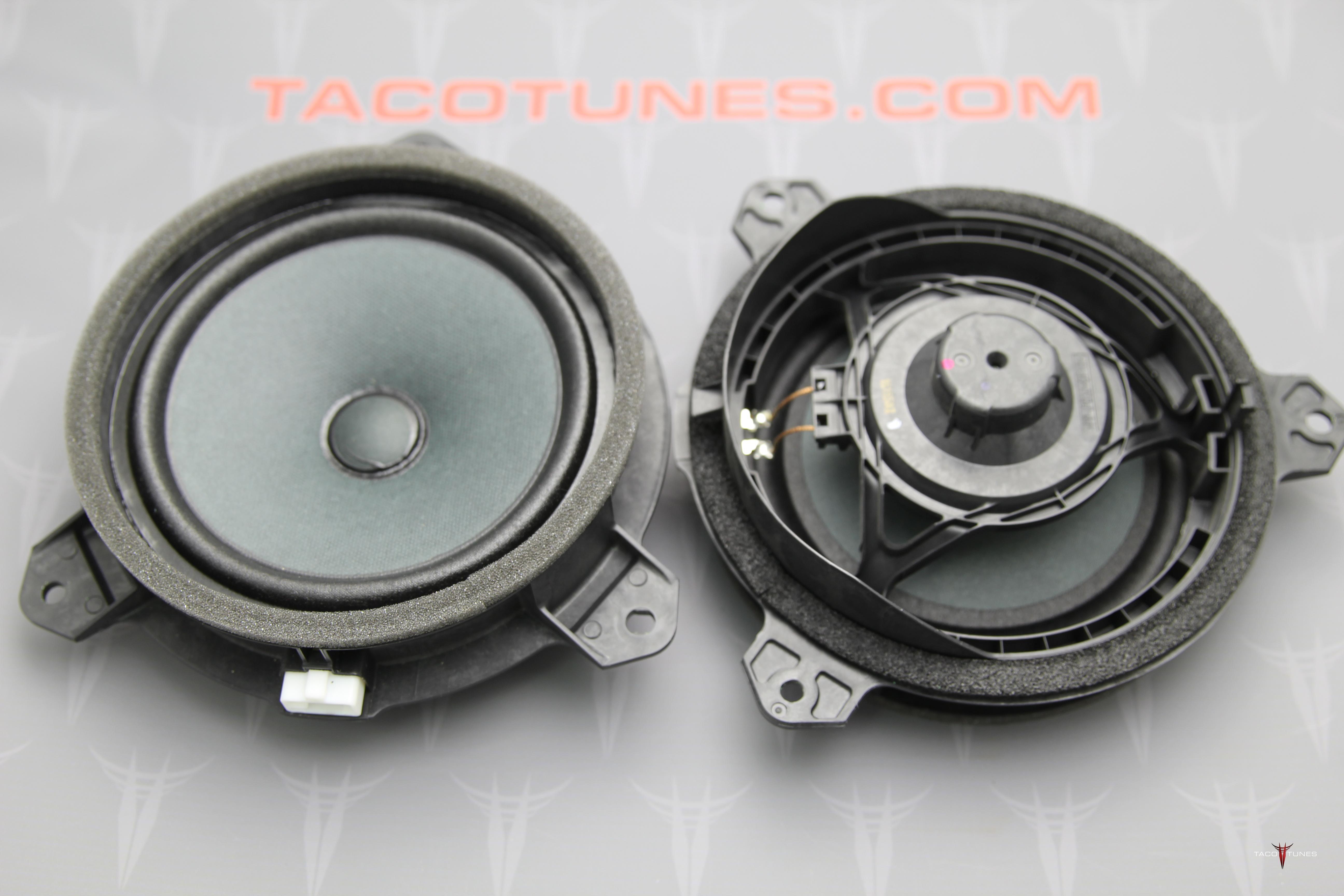 2005 2015 toyota tacoma rear door speakers taco tunes toyota audio solutions. Black Bedroom Furniture Sets. Home Design Ideas