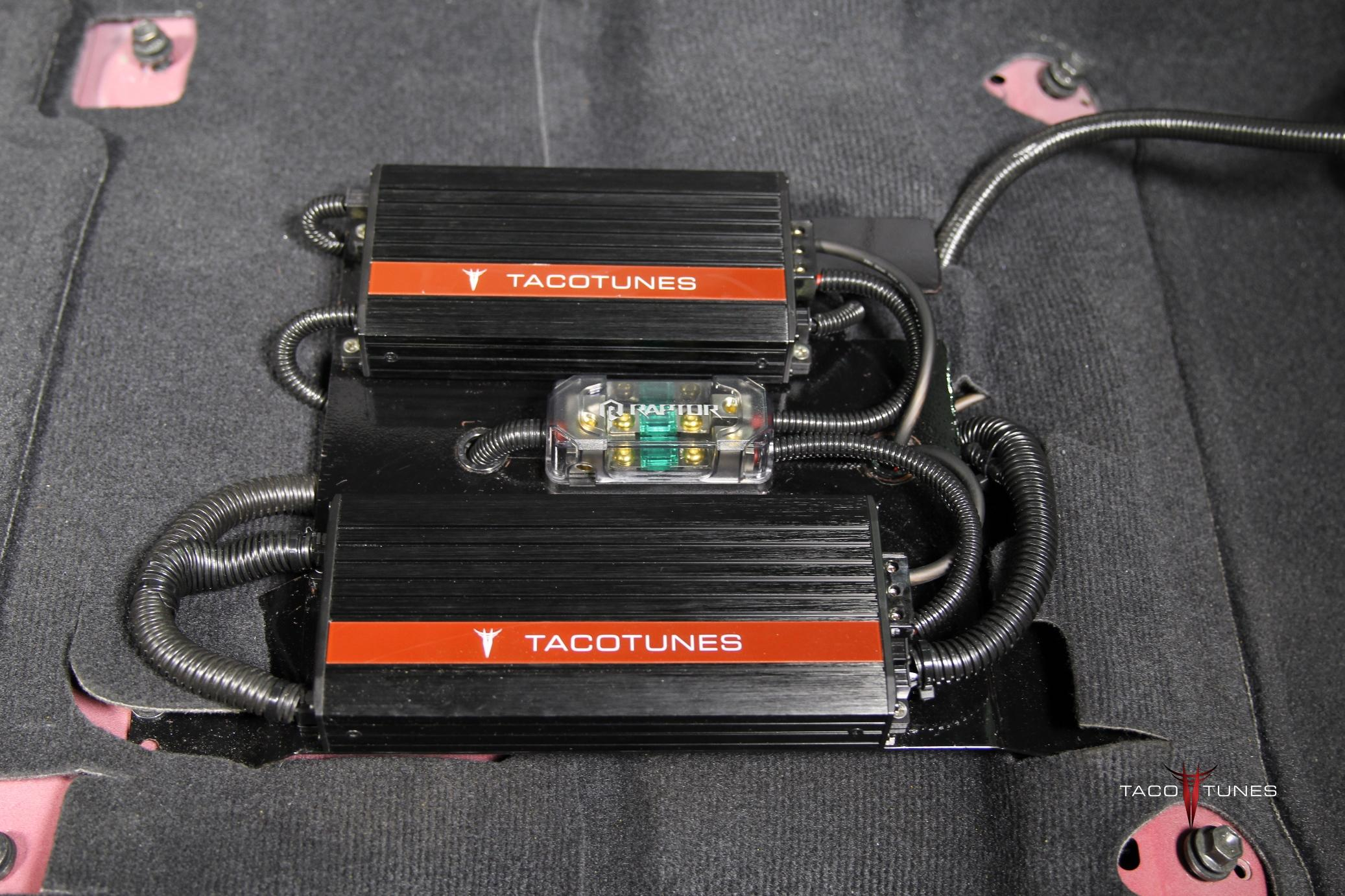 Toyota Camry Plug And Play Stereo Amp Subwoofer Amplifiers Taco Tunes Toyota Audio Solutions